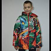 Мальчуковые демисезонные куртки для мальчиков оптом