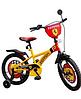 Детский двухколесный велосипед 16 дюймов на 4 года  Ferrari