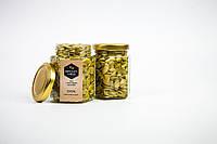 Мед з гарбузовим насінням