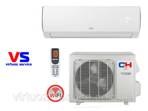 Кондиционер Cooper&Hunter CH-S18FTXQ (WIFI) VERITAS INVERTER, фото 2