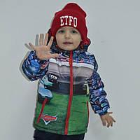 Детские демисезонные куртки для мальчиков оптом, фото 1