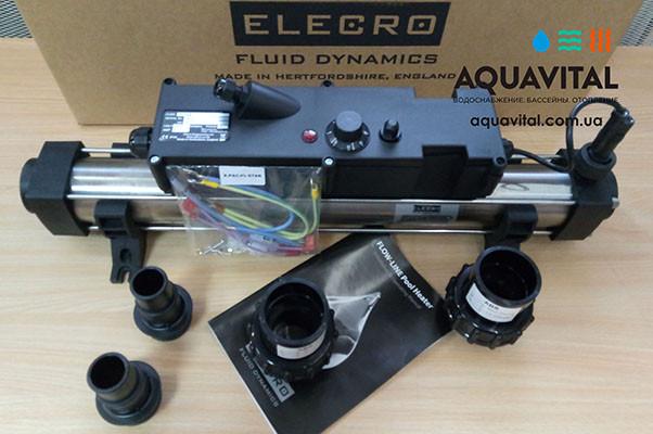 Электронагреватель для бассейна Elecro Flow Line 8Т36В на 6 кВт