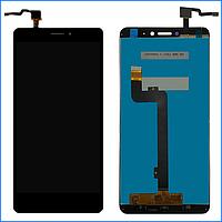 Дисплей Xiaomi Mi Max 2 ксиоми с тачскрином (сенсором) в сборе, цвет черный