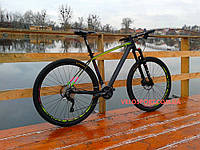 """Горный велосипед Cyclone PRO 1.0 29 дюймов - 19"""" карбон"""