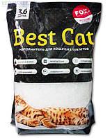 Бест Кет Best Cat силикагелевый наполнитель для кошачьего туалета без запаха 3,6 л 1,3 кг
