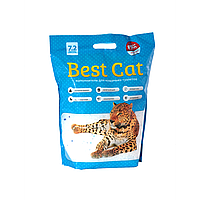 "Силикагелевый наполнитель Бест Кет для кошачьего туалета  "" Best Cat "" Blue Mint 7,2 литров"
