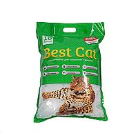 Бест Кет Best Cat силикагелевый наполнитель для кошачьего туалета зеленое яблоко 10 л (3,6 кг)