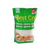 Бест Кет Best Cat силикагелевый наполнитель для кошачьего туалета зеленое яблоко 3,6 л (1,3 кг)