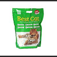 Бест Кет Best Cat силикагелевый наполнитель для кошачьего туалета зеленое яблоко 7,2 л (2,5 кг)