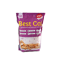 Бест Кет Best Cat силикагелевый наполнитель для кошачьего туалета с лавадой 3,6 л (1,3 кг)
