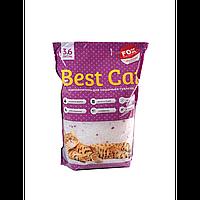 Наполнитель Бест Кет Best Cat силикагелевый для кошачьего туалета с лавадой 3,6 л (1,3 кг)
