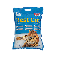 "Силикагелевый наполнитель Бест Кет для кошачьего туалета ""Best Cat"" Blue 10 литров"