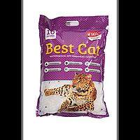 Бест Кет Best Cat силикагелевый наполнитель для кошачьего туалета с лавадой 10 л (3,6 кг)