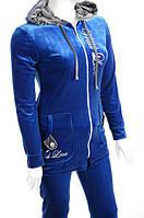 Велюровый женский спортивный костюм R3348