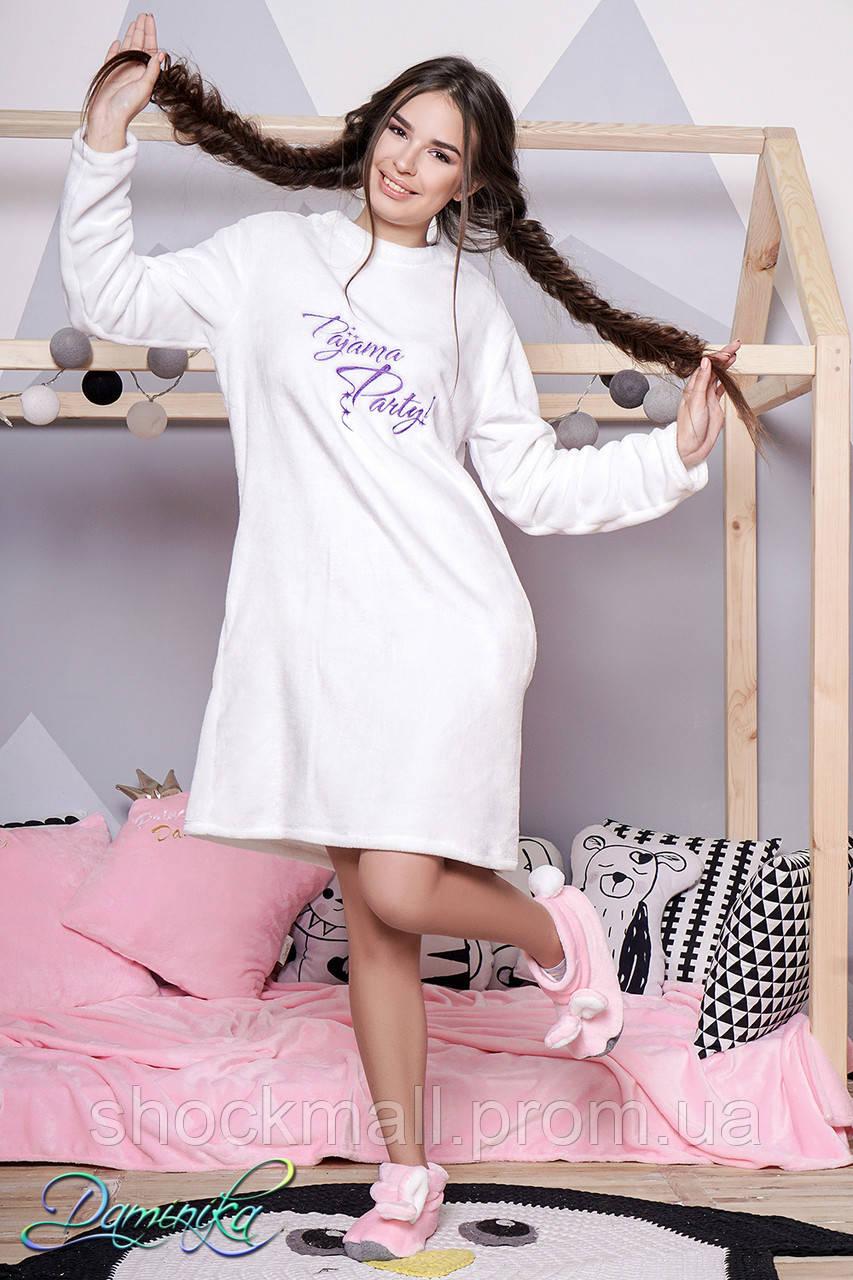 3b16fbf6430 Женская ночная рубашка махра Pijama Party - Интернет магазин ShockMall в  Киеве