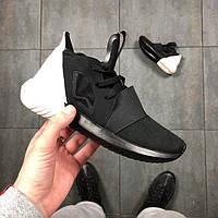 Кроссовки Adidas Tubular Defiant Black/White 40 размера