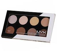Палитра для контуринга NYX Nighlight&Contour PRO Palette