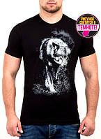 Мужская футболка с принтом Валимарк,модная, светится в темноте.M,L,XL, XXL наличие уточняйте