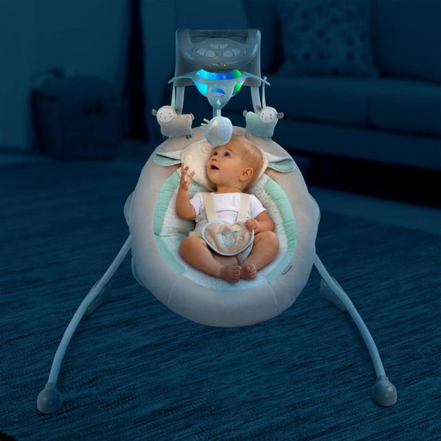 Качели для новонарожденных