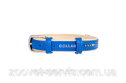 Ошейник Collar Brilliance со стразами ширина 15 мм обхват шеи 27-36 см 387412, фото 2