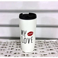 Чашка керамическая My Love 450мл