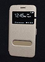Чехол-книжка FLIPCOV Huawei Y7, золот (Хуавей у7,накладка для телефона бампер-книжка,кейс,защита для телефона)