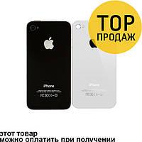 Задняя панель корпуса для мобильного телефона Apple iPhone 4, белая, AAA