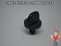 Ручка крана черная газовой плиты Гефест 1100, 3100 (капля)