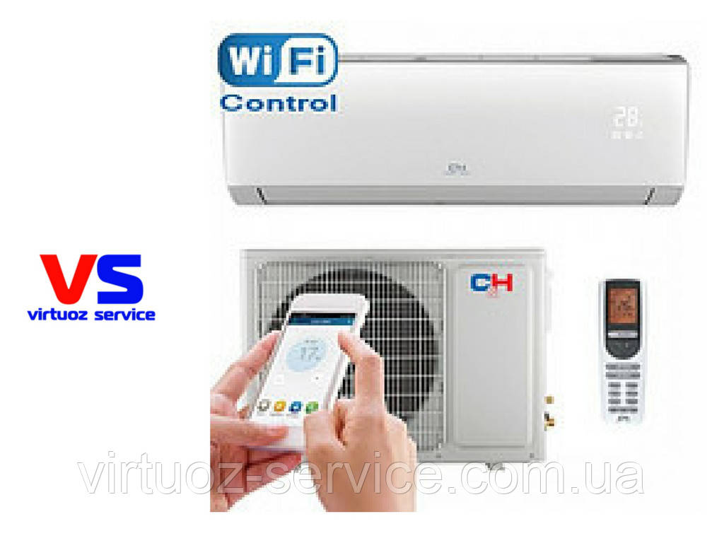 Кондиционер Cooper&Hunter CH-S18FTXLA (Wi-Fi) ARCTIC INVERTER