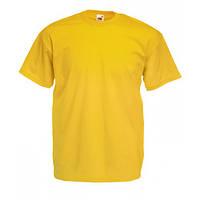Футболка мужская FOL Original T L, желтый