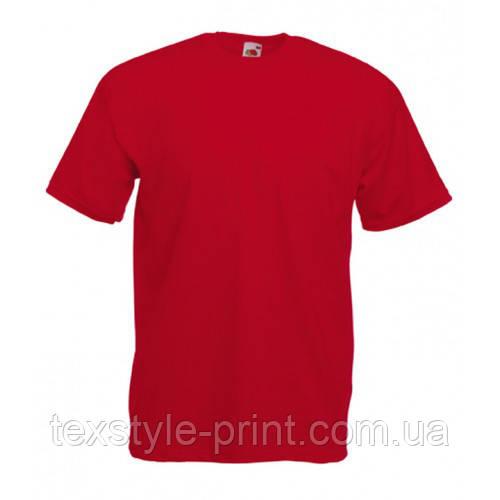 Футболка мужская FOL Original T 2XL, красный