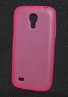Чехол силиконовый Samsung i9190/9190, розовый  (Самсунг и9190, чехол- накладка, бампер, кейс, панель)