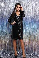 Вечернее женское платье в пайетку Марисоль
