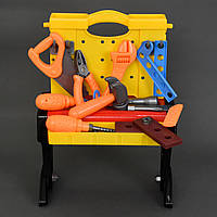 Детский набор инструментов 661-73  стол-чемодан