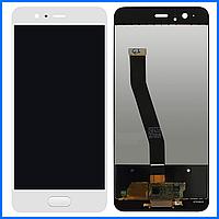 Дисплей (экран) для Huawei P10 с тачскрином в сборе, цвет белый