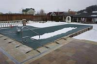 Накртиття для басейну. Зимове накриття для басейну. Накртиття для консервації басейну