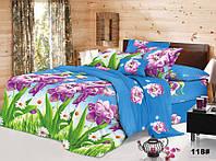 Двухспальное постельное белье с ефектом 3D персиковая роза