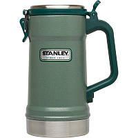 Пивная термокружка Stanley Stein 0.7 Л зеленая