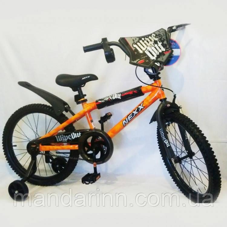 """Велосипед дитячий """"NEXX BOY-20"""" 20 дюймів. Помаранчевий."""