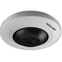 5ти мегапиксельная камера рыбий глаз turbo hd DS-2CC52H1T-FITS (1.1 мм)