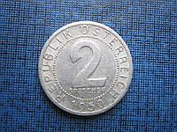 Монета 2 грошена Австрия 1950