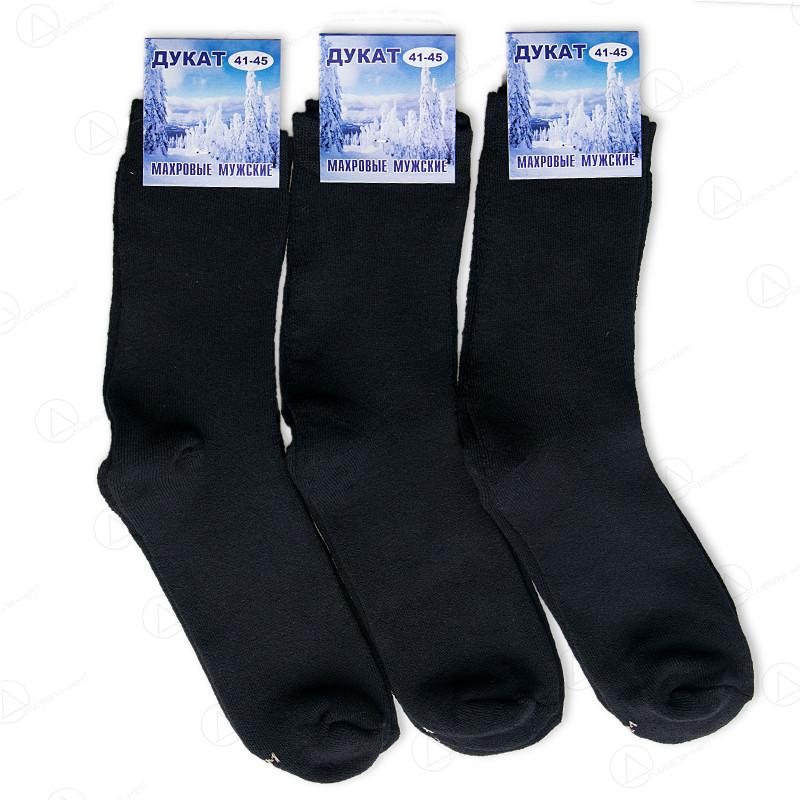 Мужские махровые носки Дукат M001-3drn