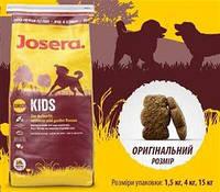 Йозера Кидс корм для щенков и юниоров средних и крупных пород 15 кг