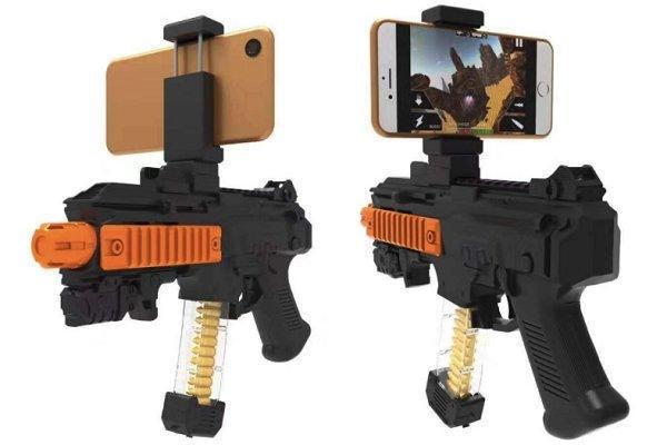Игровой автомат виртуальной реальности AR Game Gun (Black, black with bullets)