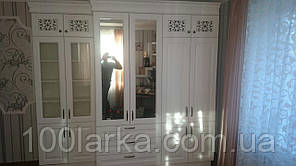 Шкаф деревянный массив ясеня