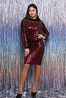 Стильный женский костюм Питон