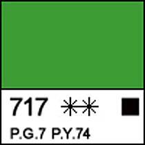 Краска акриловая Сонет зеленая светлая 75мл ЗХК