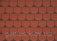 Бітумна черепиця IKO Victorian Tile Red Ultra, фото 2