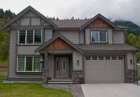 Канадские дома, строительство коттеджей по канадской сип технологии
