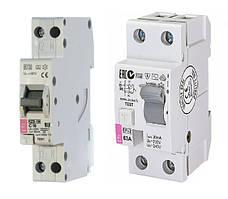 Дифференциальные реле EFI, дифференциальные автоматические выключатели KZS
